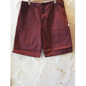 (SALE30%OFF) INTERFACE インターフェイス/SATAN HAND CHINO SHORTS BURGUNDY