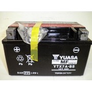 YUASA / YTX7A-BS (STX7A-BS GTX7A-BS FTX7A-BS KTX7A-BS互換) バイク用バッテリー 密閉型 7A-BS