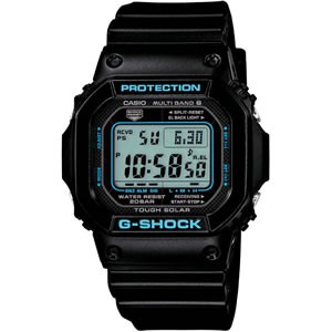 カシオ 電波受信 ソーラー 腕時計 G-SHOCK BLACK × BLUE Series GW-M5610BA-1JF【smtb-k】【ky】