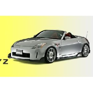 DAMD ダムド エアロ FAIRLADY Z (フェアレディーZ) Z33 SPOILER TYPE STYLING EFFECT 3 PIECE KIT CARBON FIBER 未塗装