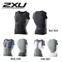mt2848a【2XU/ツータイムズユー】G:2 コンプレッショントライシングレット G:2 COMPRESSION TRI SINGLET/MT2848a