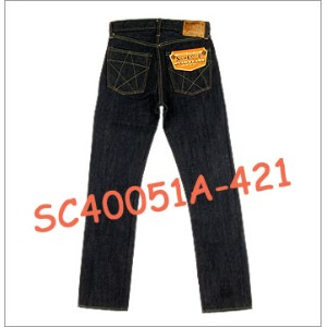 ■ SUGAR CANE SC40051A-421 ☆ UNION STAR JEANS JEANS ☆[Made in JAPAN] (ウォッシュド/ワンウォッシュ) (タイトストレート)