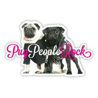 Pug People Rock【パグ】輸入雑貨・犬グッズ・犬雑貨・パググッズ
