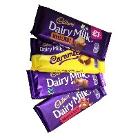 Cadbury Assortment (キャドバリー アソートメント) 4 x 120g - Dairy Milk, Fruit & Nut, Whole Nut, Caramel (デイリーミルク、...