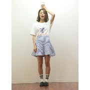 【SALE/72%OFF】BLONDY ReLISH Sports Print Tシャツ リュビショコラ カットソー【RBA_S】【RBA_E】