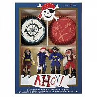 【Ahoy There Pirate】カップケーキキット パイレーツ