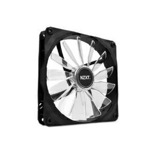 【NZXT】NZXT LED搭載140mmファン 回転数1000rpm FZ140LED-RD(赤)