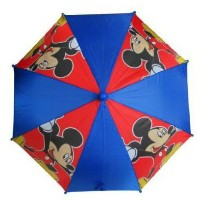 Disneyミッキーマウスブルー男の子用傘- Mickey Mouse - Molded Handle New Gifts Toys Kids/Boys Blue.