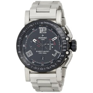 Zodiac ゾディアック メンズ腕時計 Men's ZO8556 Stainless Steel Swiss Quartz Watch