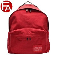 Manhattan Portage BAG マンハッタンポーテージ バッグ メンズ リュックサック バックパック レッド ナイロン 1210-red 《Big Apple Backpack M...