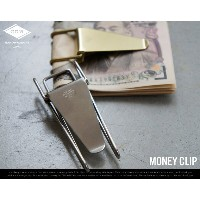 Money Clip / マネークリップ CANDY DESIGN & WORKS キャンディ デザイン&ワークス 財布 真鍮 ニッケル MoneyClip Hopper Double Clip...