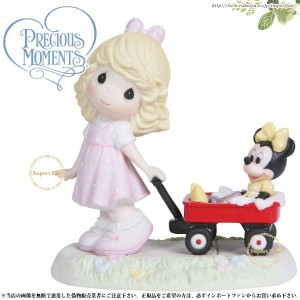 プレシャスモーメンツ ミニー Wherever The Road Leads Together We'll Always Be Girl 114907 ディズニー Precious Moments ...