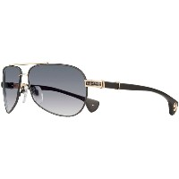 CHROME HEARTS THE BEAST I クロムハーツ サングラス Matte Black/Gold Plated - Matte Black Plastic