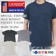 CAMBER キャンバー SPECIAL EDITION MAX WEIGHT POCKET T-SHIRT 別注品 半袖 マックスウェイト ポケット付 Tシャツ/CAMBER キャンバー 半袖...