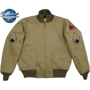 """BUZZ RICKSON'S/バズリクソンズ Jacket, Combat, Winter Type TANK PATCH POCKET 2nd Armor Division """"Fury""""..."""