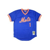 MITCHELL&NESS AUTHENTIC MESH BP JERSEY (Mookie Wilson/No.1/New York Mets 1986: Blue)ミッチェル&ネス...