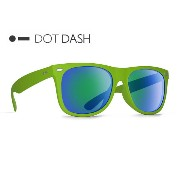 DOT DASH KERFUFFLE (LIM)(Lime/Green Chrome) AE217-D06 ドットダッシュ UVカット サングラス sunglass vz vonzipper ボンジッパー メ...