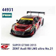 1/43 ZENT Audi R8 LMS ultra SUPER GT300 2013 No.21 【RESIN】【44931】 【税込】 EBBRO [EB 44931 ゼント アウディR8...