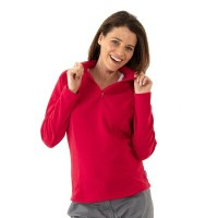 Quechua(ケシュア) FORCLAZ 50 FLEECE WOMEN L RED 8156647-1277571