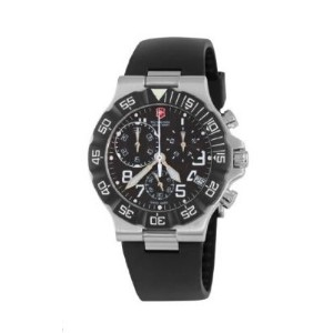 Victorinox Swiss Army ビクトリノックス スイスアーミー メンズ腕時計 Men's 241336 Summit XLT Analog Quartz Black Watch