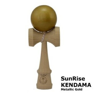 けん玉 SunRise KENDAMA(Metallic Gold)サンライズ