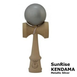 けん玉 SunRise KENDAMA(Metallic Silver)サンライズ