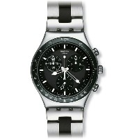 スウォッチ SWATCH IRONY CHRONO WINDFALL YCS410GX メンズ 腕時計