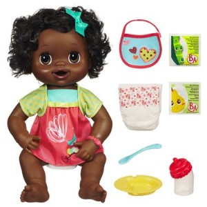 Baby Alive ベビーアライブ 赤ちゃん 人形 フィギュア ドール Baby Alive My Baby Alive Talking African American Baby Doll