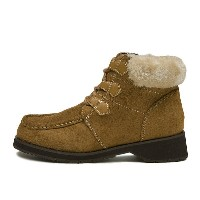 【NUOVO】 ワークレースボアブーツ ND10021 WORK LACE 冬靴 S/CAMEL