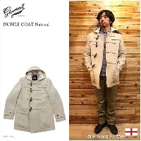 GLOVERALL(グローバーオール)DUFFLE COAT Natural ダッフルコート