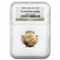 Great Britain 2009 Gold Sovereign PF-70 UCAM NGC