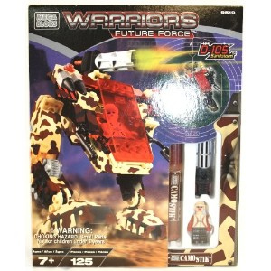 メガブロック Warriors Future Force - D-105 Sandstorm