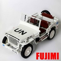 1/4 TON ARMY TRUCK WWII white 1/18 WELLY 8241円 【ミニカー 軍用車 アメリカ軍 白 アメ車 4駆 オフロード 】【コンビニ受...
