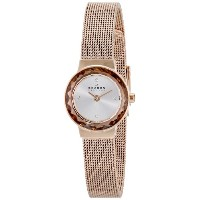 スカーゲン 腕時計 レディース 時計 Skagen Women's SKW2187 Leonora Quartz 2 Hand Stainless Steel Rose Gold Watch