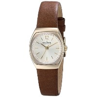 スカーゲン 腕時計 レディース 時計 Skagen Women's SKW2239 Asta Quartz 3 Hand Stainless Steel Dark Brown Watch
