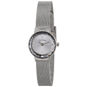 スカーゲン 腕時計 レディース 時計 Skagen Women's SKW2184 Leonora Quartz 2 Hand Stainless Steel Silver Watch