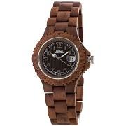テンス 時計 腕時計 木製 Tense American Walnut Round Analog Sports Wooden Watch G4100W W
