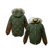 "TOYS McCOY (トイズマッコイ) ""MILITARY DOWN PARKA OLIVE VER."" ステンシル無し TMJ1436-14AW「P」"