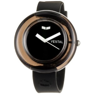 ベスタル 時計 レディース 腕時計 Vestal Women's SET005 Black and White Watch and Bangle Bracelet Set
