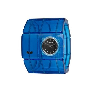 ベスタル 時計 レディース 腕時計 Vestal Women's RSA017 Rosewood Acetate Translucent Blue Bangle Watch