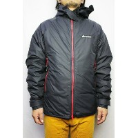 """Buffalo Systems"" (バッファローシステムズ)BELAY JACKET with HOOD LIMITED EDITION (COLOR : BLACK / RED)..."