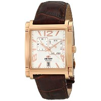オリエント 時計 メンズ 腕時計 Orient Men's SETAC008W0 Gallant Analog Display Japanese Automatic Brown Watch