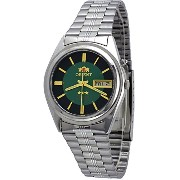 オリエント 時計 スリースター メンズ 腕時計 Orient #BEM6Q002F Men's Green Dial Tri Star Standard Self Winding Automatic...