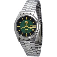 オリエント 時計 スリースター メンズ 腕時計 Orient #BEM6Q002F Men's Green Dial Tri Star Standard Self Winding Automatic Watch