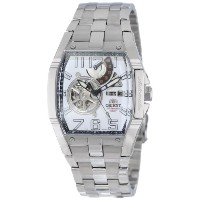 オリエント 時計 メンズ 腕時計 Orient Men's CFTAB002W Power Reserve Semi-Skeleton White Automatic Watch
