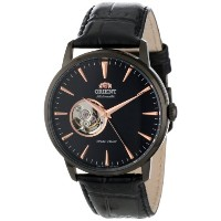"オリエント 時計 メンズ 腕時計 Orient Men's FDB08002B ""Esteem"" Stainless Steel Automatic Watch with Black Leather..."
