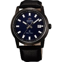 オリエント 時計 メンズ 腕時計 Orient #FER23002D Men's Surveyor Leather Band Blue Dial Automatic Watch