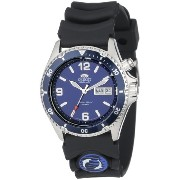 オリエント 時計 メンズ 腕時計 Orient Men's CEM65005D 'Blue Mako' Automatic Rubber Strap Dive Watch
