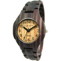 テンス 時計 メンズ 腕時計 木製 Tense Wood G8010D Men's Corrugated Sandalwood Watch