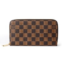 LOUIS VUITTON ルイヴィトン 財布 N60015 ダミエ ジッピー・ウォレット